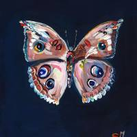 Butterfly 2 Art Prints & Posters by Starla Halfmann
