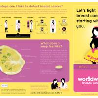 """Breast Cancer Health Fair poster 2 of 2"" by lemonland"