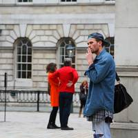 London Fashion Week 2013_Blue Coat Smoke