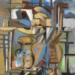 """""""October Studio with Cello"""" by clydesemler"""