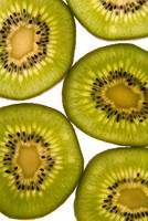Slices of kiwi