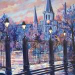 """Jackson Square Sparkle"" by neworleansartist"