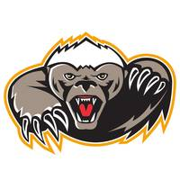 Honey Badger Mascot Claw