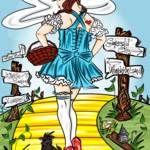 """9-6-13 Dorothy In Oz"" by artinthegarage"