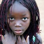 """African Girl"" by SimonFenton"