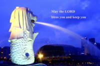 Bless you, Merlion Singapore
