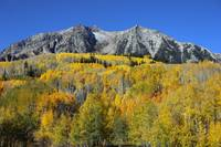 Kebler Pass Road in Autumn