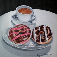 Donuts and Coffee- Donas y café
