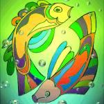 """Celtic Fish 4"" by JoyceDickens"