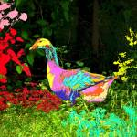 """Colorful Lucy Goosey"" by JoyceDickens"