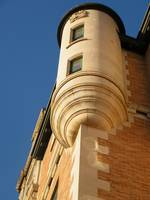 One of the Bessborough Hotel's many turrets