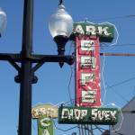 """Park Cafe Sign"" by Jordoncooper"