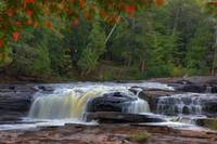Porcupine Mountains - Middle Falls