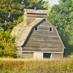 """Corn Crib With Cupola"" by janesprints"