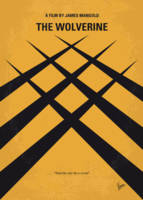 No222 My Wolverine minimal movie poster
