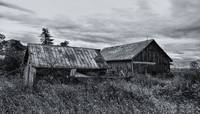 Desolate old Barn