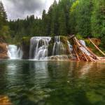 """0242 Lower Falls Lewis River"" by vincentlouis"