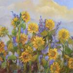 """Carmel Valley Sunflowers"" by BarbaraRedingStudios"