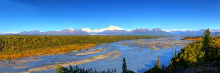 Susitna River Panorama