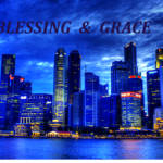 """Blessing and Grace, Cityscape Singapore"" by sghomedeco"