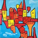 """Toytown In The Air"" by Genevieve"