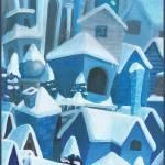 """City Winter Blue"" by Genevieve"