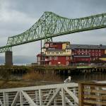 """Bridge in Astoria Oregon color"" by memoriesoflove"