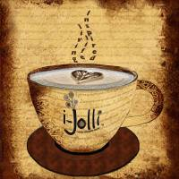 I-Jolli Cafe Art Prints & Posters by Lydia Lane Jackson