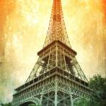 """Eiffel Tower Warmth"" by Groecar"