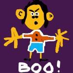 """""""Boo"""" by FlowersforMyLady"""