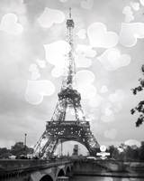 Eiffel Tower, Black and White