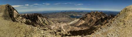 From Mt St Helens to Mt Rainier