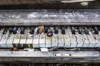 Weathered Piano