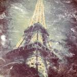 """Eiffel Tower with a Daguerreotype-like Treatment"" by Linde"