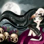 """""""The Witching Hour"""" by sandygrafik_arts"""