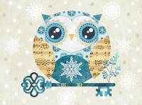 Winter Wonderland Owl