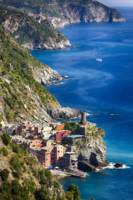 Cinque Terre Towns on the Cliffs,