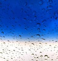 Raindrops on a Glass Window