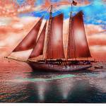 """Key West Schooner 5"" by Eduardo828"