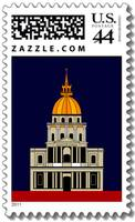 1 US Postal current Stamp with the Church of The I