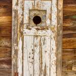 """Classic Rustic Rural Worn Old Barn Door"" by lightningman"