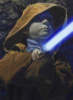 Peter as Jedi Youngling