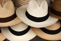 Stacked Panama Hats