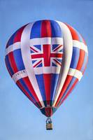 Hot Air Balloon with Union Jack British Flag