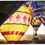 """Hot Air Balloons Lift Off at Dawn"" by lillisphotography"