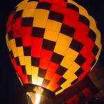 """Hot Air Balloon at the Twinkle Event"" by lillisphotography"