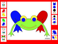 Frederic The Frog in a Fairy Tale Poster