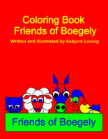 Friends of Boegely Cover of Coloring Book
