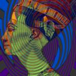 """Nefertiti vibrations"" by Marilyn"