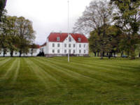 Haraldskjaer Manor House in the Vejle Valley_Paint